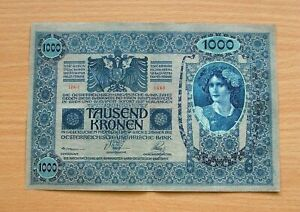 AUSTRIA 1000 KRONEN 1902 *fw 035