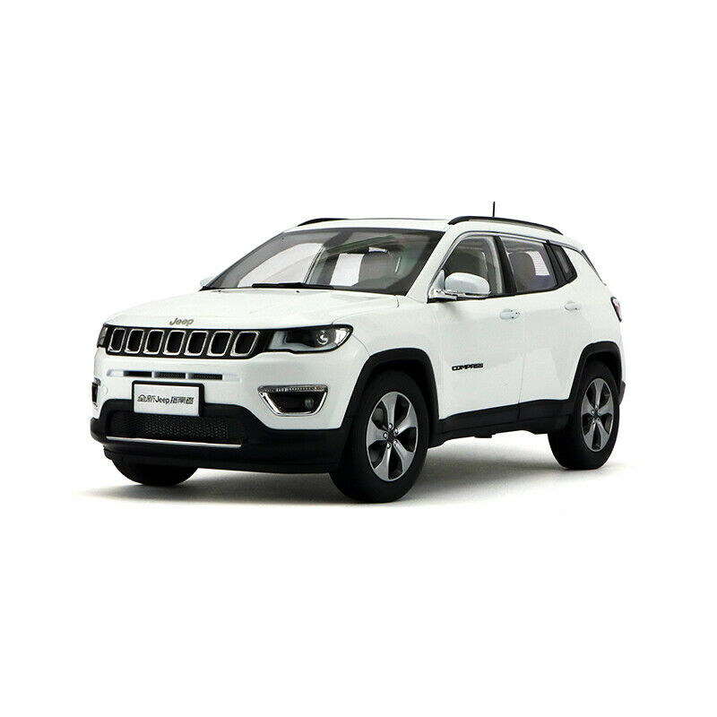 ORIGINAL MODEL 1 18 Jeep Cherokee ALL NEW COMPASS 2017 LIMITED,White