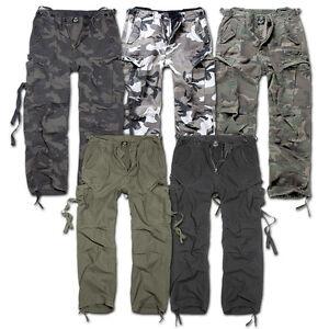 Extérieur Pantalon Vintage Décontracté M65 Combat Cargo Brandit Randonnée Eqx0HwF