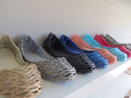 New Women/'s PALERMO Jelly Ballet Flats Slip On Shoe