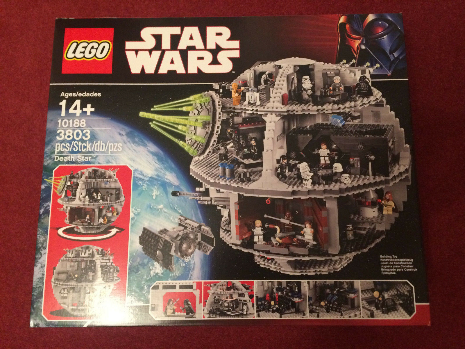 Lego UCS 10188 Death Star - Star Wars  New And Sealed