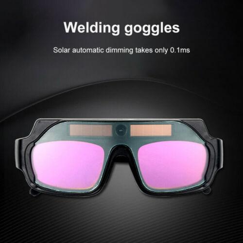 Quality Solar Powered Auto Darkening Welding Helmet Eyes Welder Glasses PC Lens