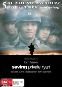 Saving-Private-Ryan-DVD-2001-1-Disc-Region-4-Tom-Hanks-Terrific-Condition