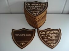 "GUINNESS BEER MATS//COASTERS /"" DUBLIN PORTER /"" PLYWOOD NEW RARE X2"