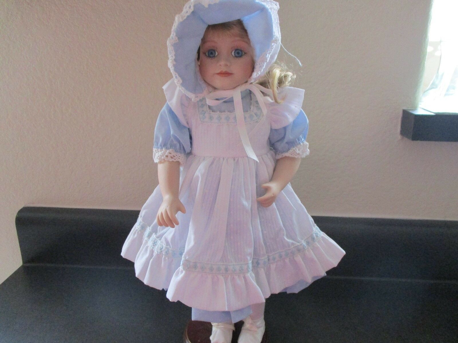 VINTAGE 1986 Clara 16  Porcelain Doll Cindy M McClure Original Limited Edition