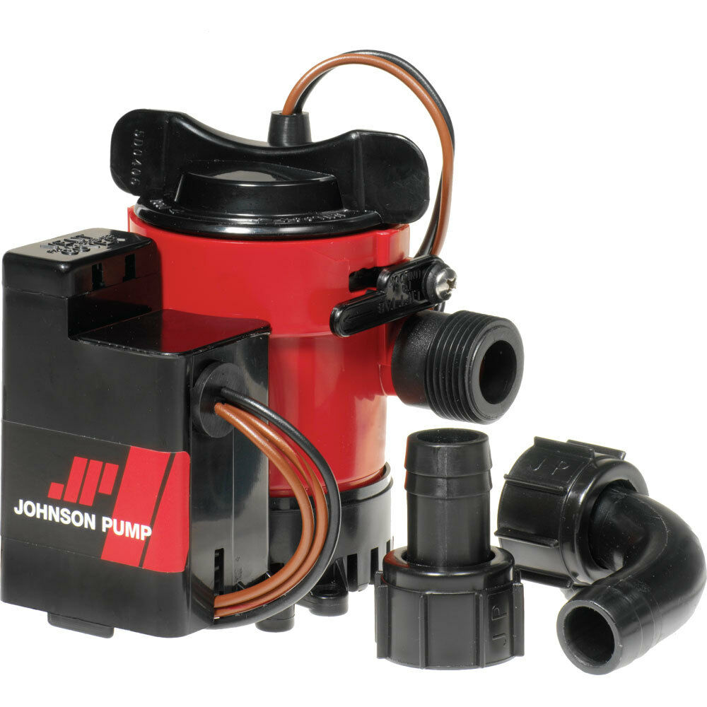 Johnson Pump 500GPH Auto Bilge Pump 34 12V Mag Switch