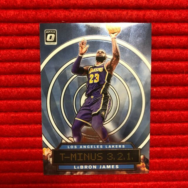 LeBron James 2019-20 Optic T-Minus 321 #9 - LA Lakers