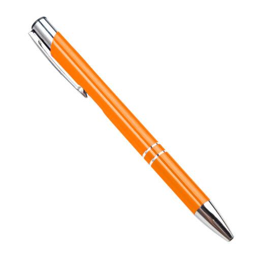 5 Stück Metall Kugelschreiber mit Wunschgravur Textgravur Werbeartikel