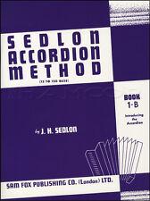Sedlon FISARMONICA METODO 1-B universitarie MUSICA LIBRO imparare a giocare