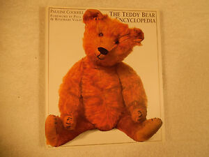The-Teddy-Bear-Encyclopedia-Cockrill-Signed-1st-Edition-Illustrated-160-7B