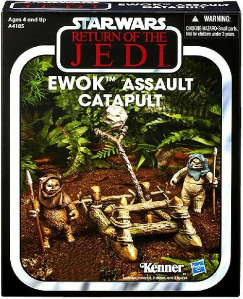 Vintage Collection Vehicles Ewok Assault Catapult Action Figure Vehicle