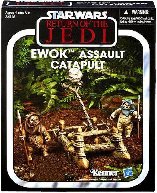 Vintage Collection Vehicles Ewok Assault Catapult Catapult Catapult Action Figure Vehicle 5e8ba6