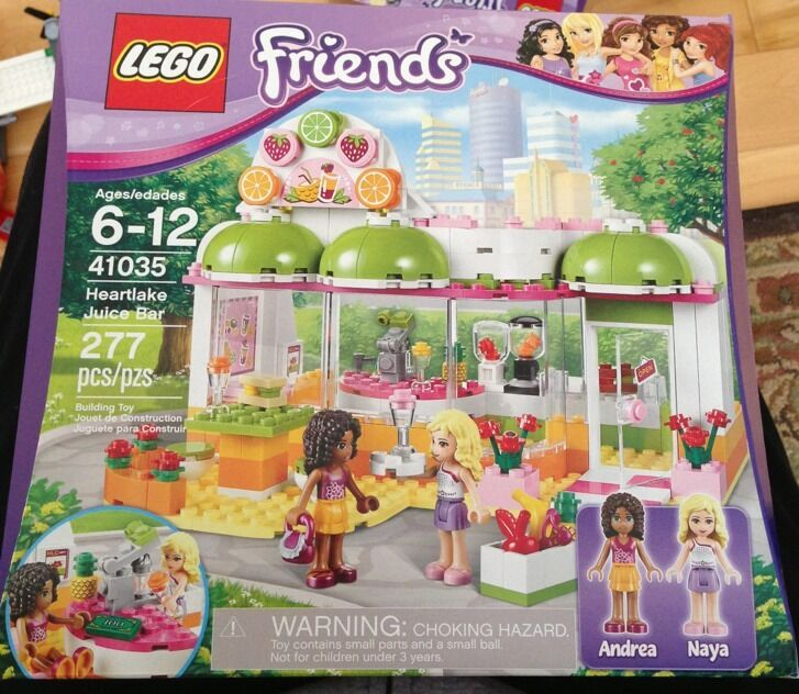 LEGO Friends Heartlake Juice Bar (41035) - Brand New, RARE  277 Pieces, Naya