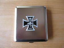 Eiserenes Kreuz 1813 EK Zigaretten Etui Iron Cross Cigarette Case WWI Monarchie