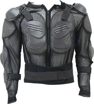 2014 Coat  Motorcycle Racing Body Armor Spine Chest Protective Jacket Gear M-3XL