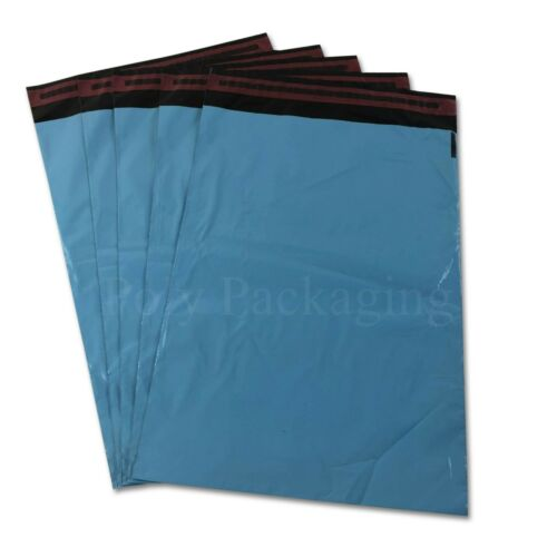 "1000 x BABY BLUE Mailing Bags 10x14"" 250x350mm POSTAL PACKAGING Postage"