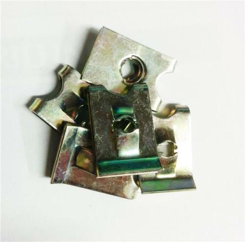 50 x speedclips elementi di fissaggio U nuts GUGLIA PRIGIONIERO Clip N 6 SELF intercettazioni CLAMP