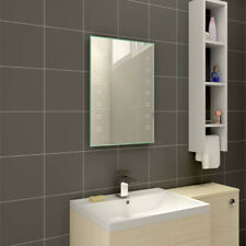 Illuminated LED Bathroom Mirror with Steam Free Demister 700x500