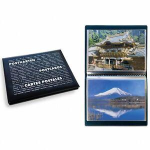 Leuchtturm-Album-Taschenalbum-ROUTE-fuer-40-Postkarten-oder-Bilder-Nr-347971