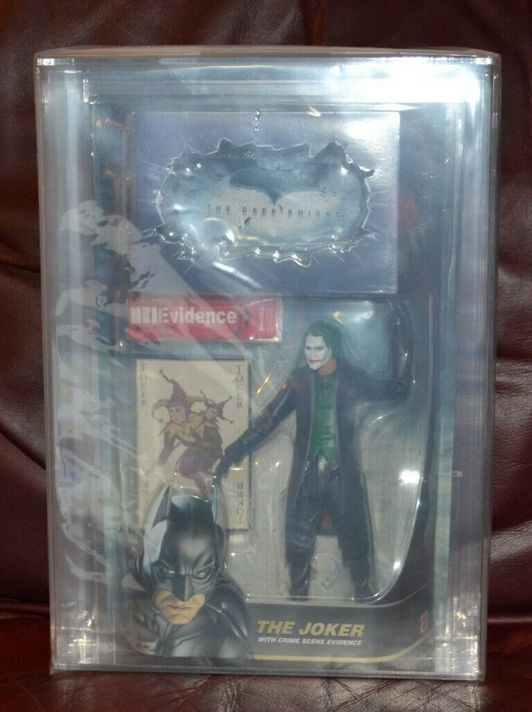 Dark Knight Heath Ledger Joker AFA 8.5  figure.  DC Batman VERY RARE