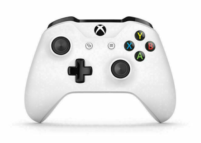 MICROSOFT Official Xbox One / S Wireless Controller 3.5mm - White w/Box