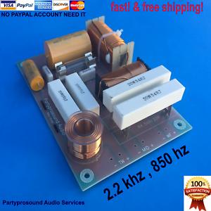 Crojover de 3 vías para para para altavoces JBL 2.2 kHz de audio profesional de frecuencia de 850 Hz & grado  50  100% autentico