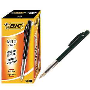 BIC Side Click Refillable Mechanical Pencil, 0.7 mm, 12 ...  Bic Click