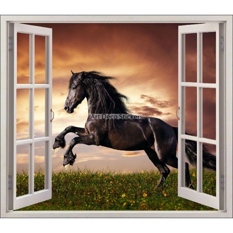 Aufkleber Fenster Deko Pferd Ref 5426 5426