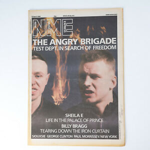 NME magazine 19 April 1986 Siouxsie and the Banshees Billy Bragg Sheila E