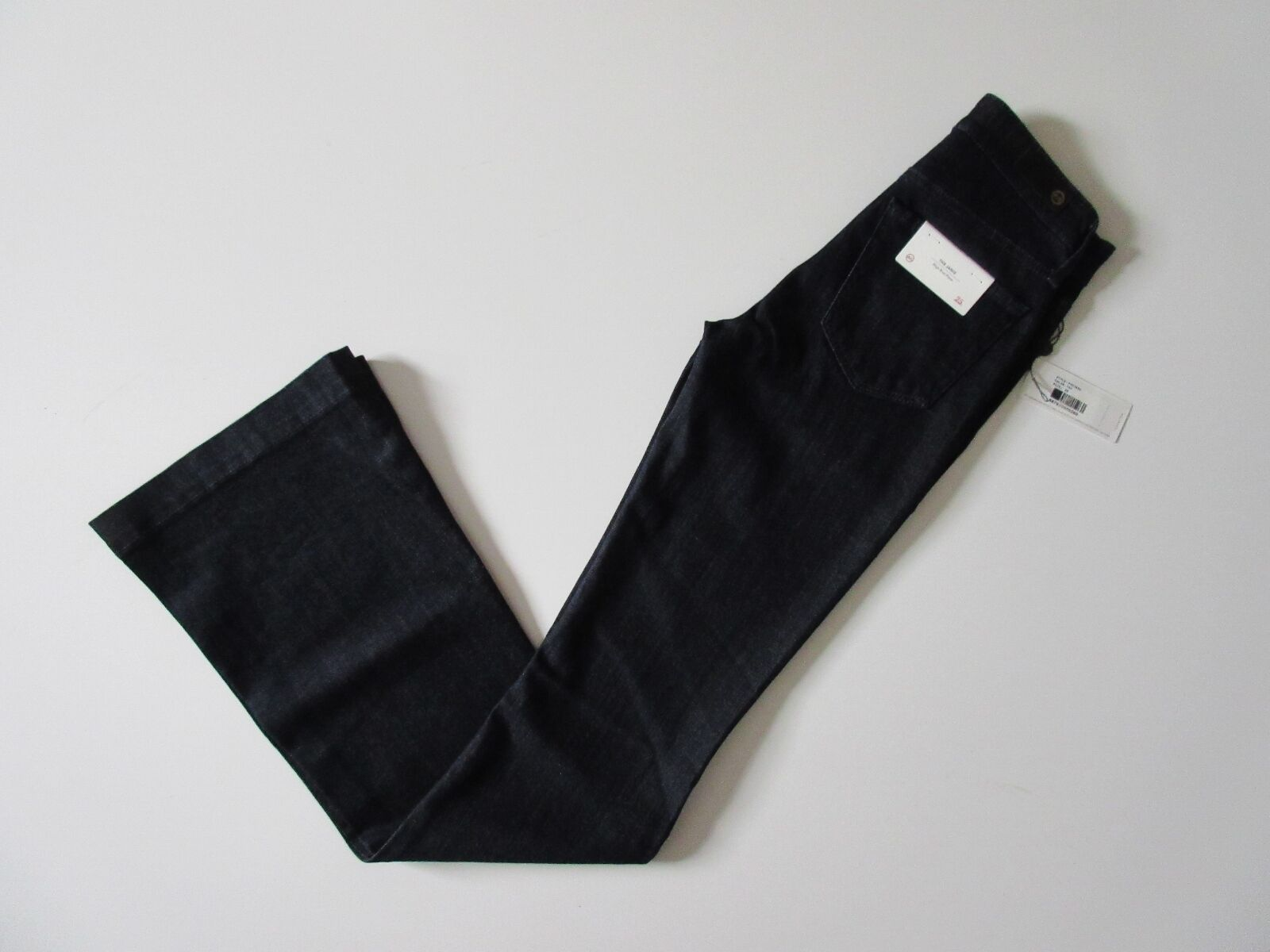 NWT AG Adriano goldschmied Janis in Tonal Society High Rise Flare Jean 25 x 35 ½