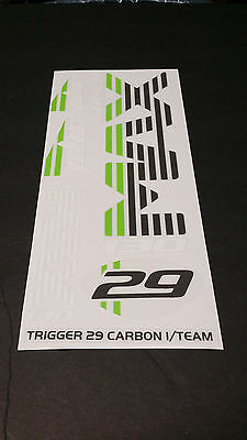 Gray Sticker Decal Set for Cannondale F29 Lefty PBR 90 Fork