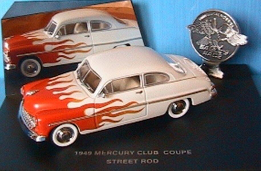 MERCURY CLUB COUPE STREET ROD 1949 1 43 EAGLE'S RACE USA CAR UNIVERSAL HOBBIES