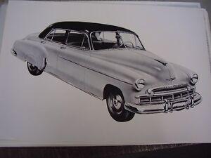 1949 chevrolet 4 door sedan 12 x 18 photo picture ebay for 1949 chevy 4 door sedan