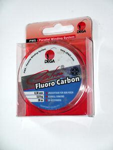 DEGA Vorfachschnur Centron Fluor Carbon Vorfach je 30 m Spule