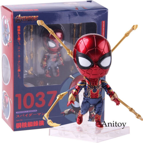 Marvel Avengers Infinity War Iron Spider-Man 1037 PVC Figure Model Toy
