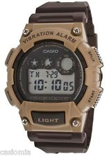 Casio W735H-5A Men's Viabration Alarm Chronograph Countdown Timer Sports Watch