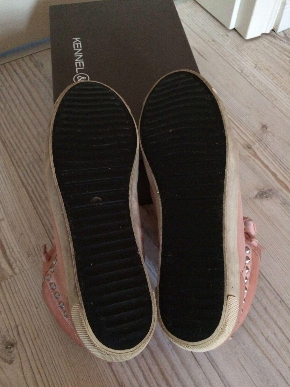Kennel & Schmenger Sneaker in 38,5 rosé mit Swarovski-Steinchen, Gr. 38,5 in a87f5a