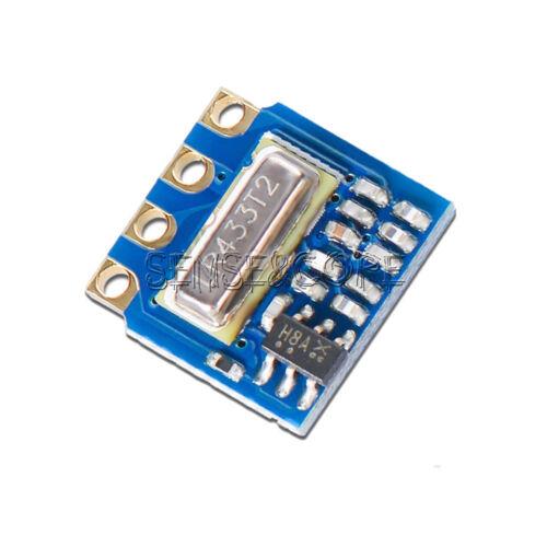 H34A-433 433Mhz MINI Wireless Transmitter Module 2.6-12V ASK