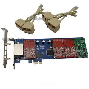 TDM800E-6FXO-amp-2FXS-Asterisk-card-Low-profile-PCI-express-card-support-elastix-pbx