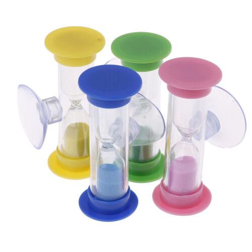 Toothbrush swivel sand timer 2 minutes shower timer kids mini glass sandclockCYN