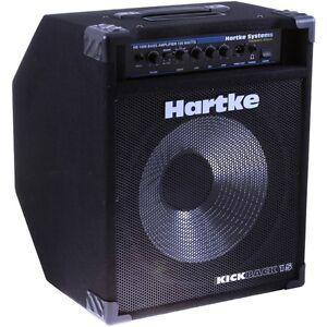 hartke kb15 kickback 15 500 watt 1x15 bass combo amplifier brand new ebay. Black Bedroom Furniture Sets. Home Design Ideas