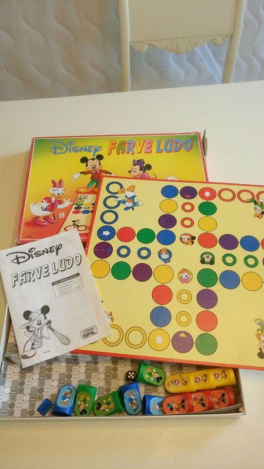 Disney farveludo, Børnespil, brætspil