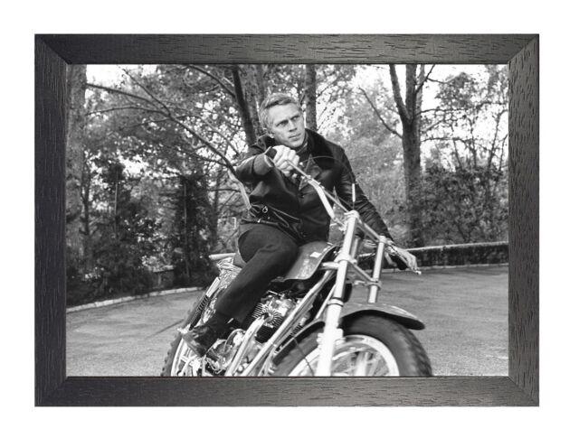 Steve McQueen American Acter Poster Print T632 A4 A3 A2 A1 A0 