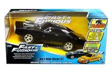 JADA R/C RADIO CONTROL CAR FAST & FURIOUS DOM'S DODGE CHARGER R/T 97584