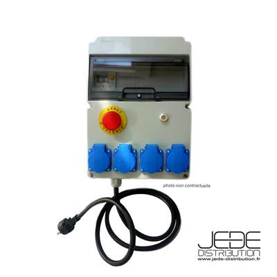 Coffret coupure enseigne lumineuse monophasé 2P16A 250V Legrand 38050