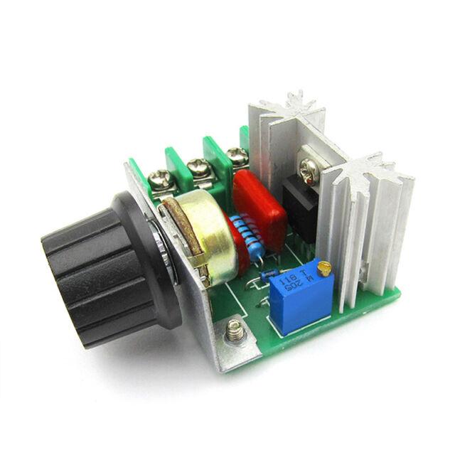 2000W AC Motor Speed Control Controller Adjustable Voltage Regulator 50-220V NT