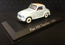VOITURE MINIATURE COLLECTION 1/43 FIAT 500 TOPOLINO de 1949 NOREV