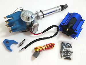SBC-BBC-Small-amp-Big-Block-Chevy-350-454-Electronic-Distributor-w-E-Core-Coil