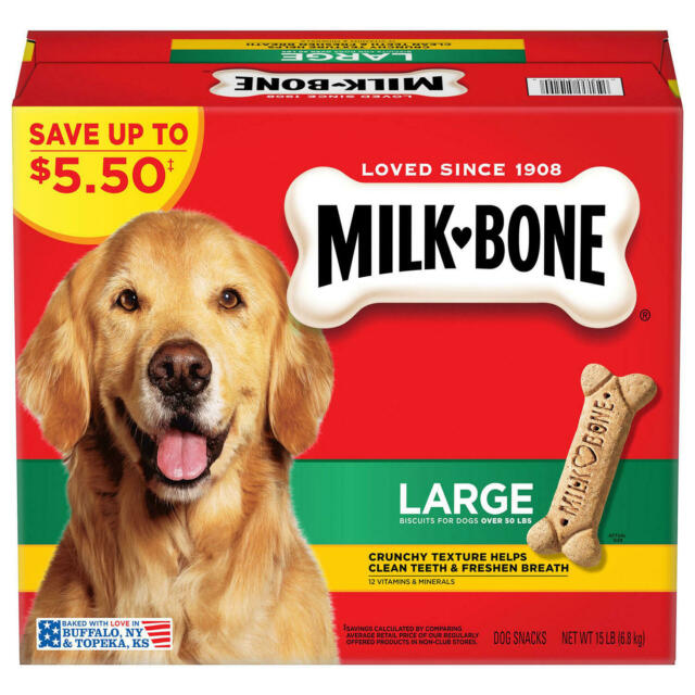 Milk-Bone Dog Biscuits, Large (15 lbs.)
