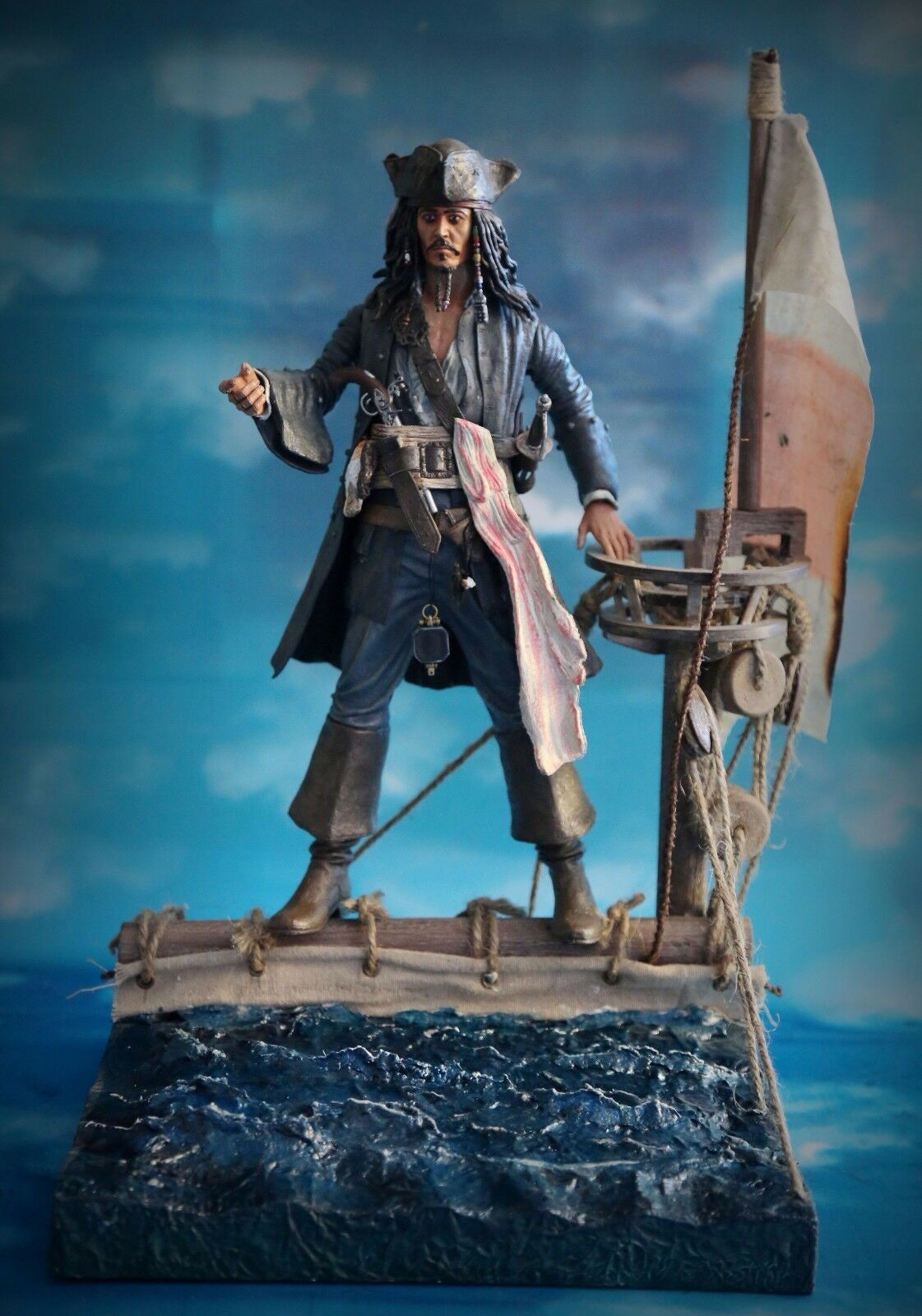1 6 Scale Scene Pirates of the Caribbean Scene B